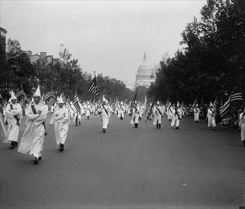 Ku Klux Klan Washington'da!