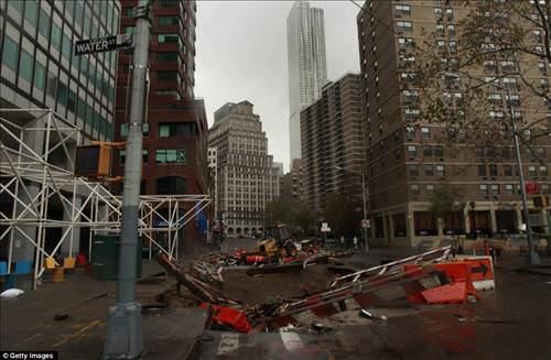 Sandy ABD'yi yıktı geçti