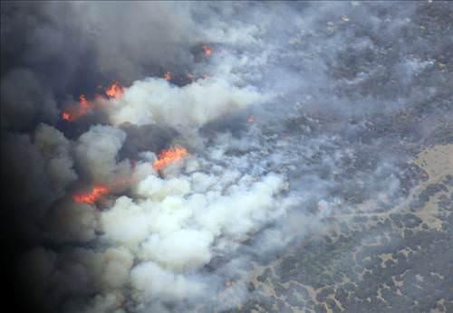 Teksas yanıyor!