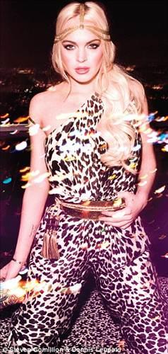 Lindsay Lohan kötü günleri çabuk atlattı!