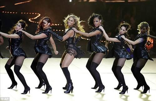 Super Bowl'a Beyonce damgası
