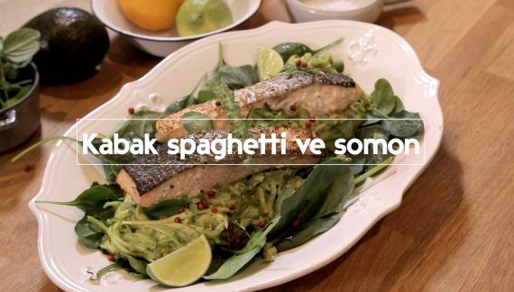 #VogueGurme: Kabak Spaghetti ve Somon