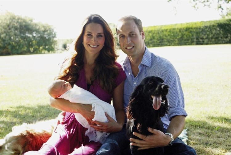Prens William ve Kate Middleton'ın Kraliyet Mutluluğu