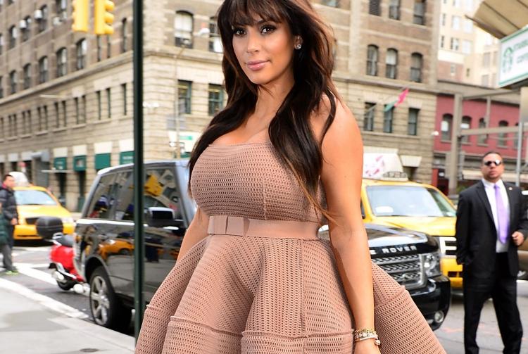 Kim Kardashian'ın En İyi 10 Hamile Stili