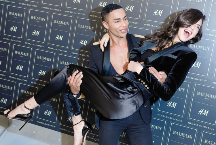 Balmain x H&M New York Partisi