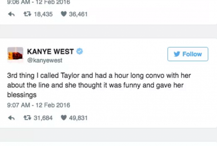 Kanye'nin Sağlam Kanıtları