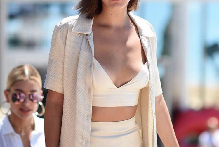 Bella Hadid'in Cannes Stili