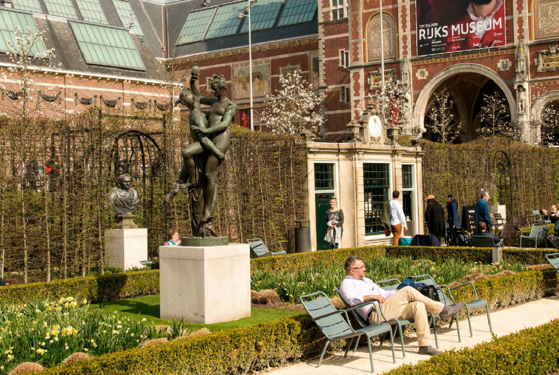 Rijksmuseum Gardens, Amsterdam