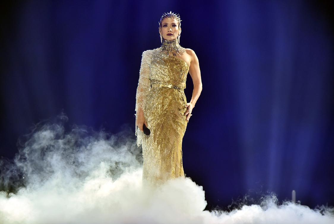 Versace Nin Altin Tanricasi Jennifer Lopez
