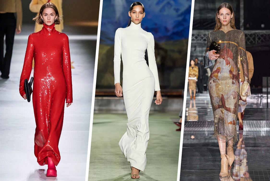 Slip Elbiseye Kış Reformu