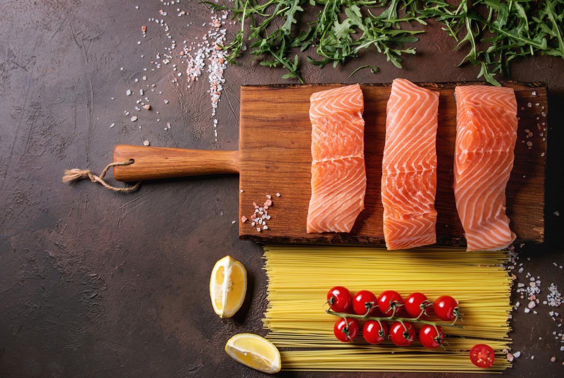 Ana Yemekte Balık: Bulgurlu Somon