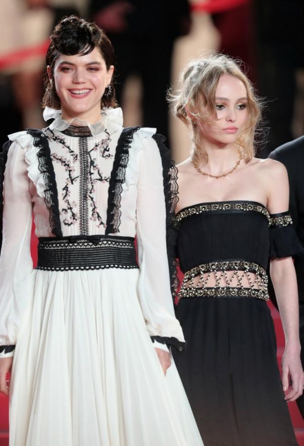 Soko, Lily-Rose Depp, 'I, Daniel Blake'