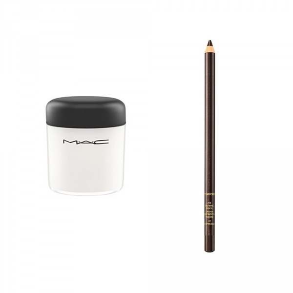 M.A.C Mixing Medium Shine, Tom Ford Eye Defining Pencil