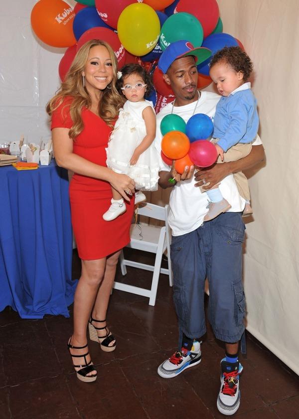 Mariah Carey, Nick Cannon ve ikizleri
