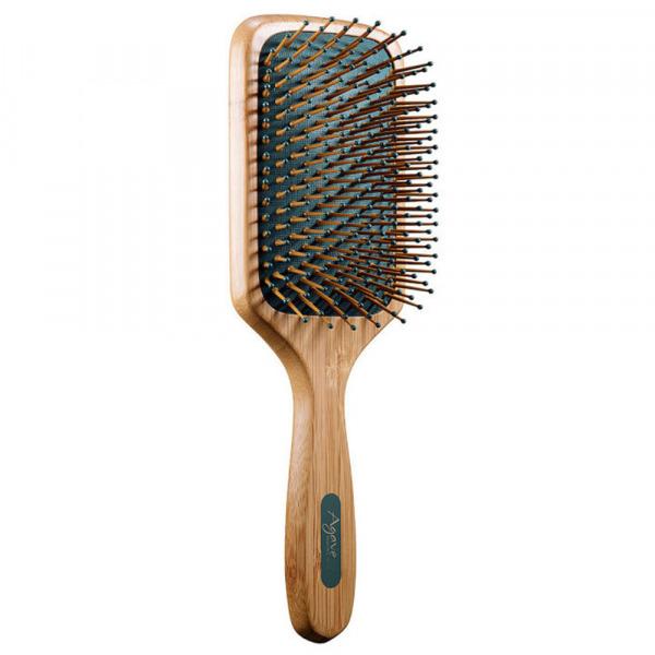 Agave Healing Oil Natural Bamboo Paddle Brush