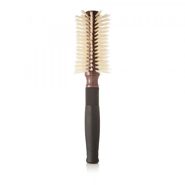 Christophe Robin Pre-curved Blowdry Boar Bristle Hairbrush - 12 rows
