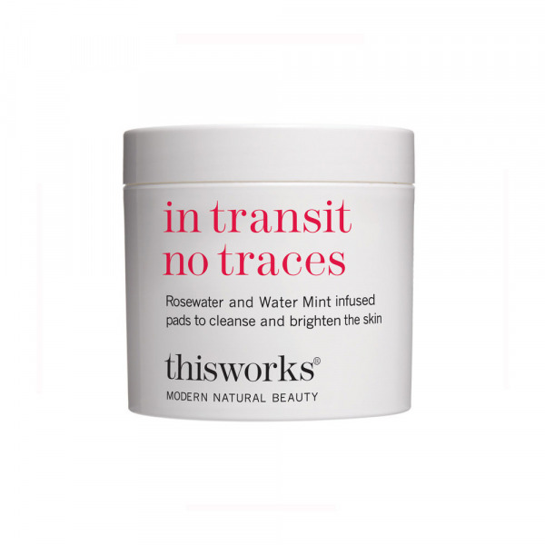 This Works In Transit No Traces Rosewater Pads