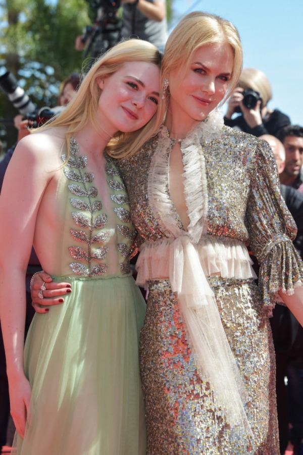 Elle Fanning, Nicole Kidman