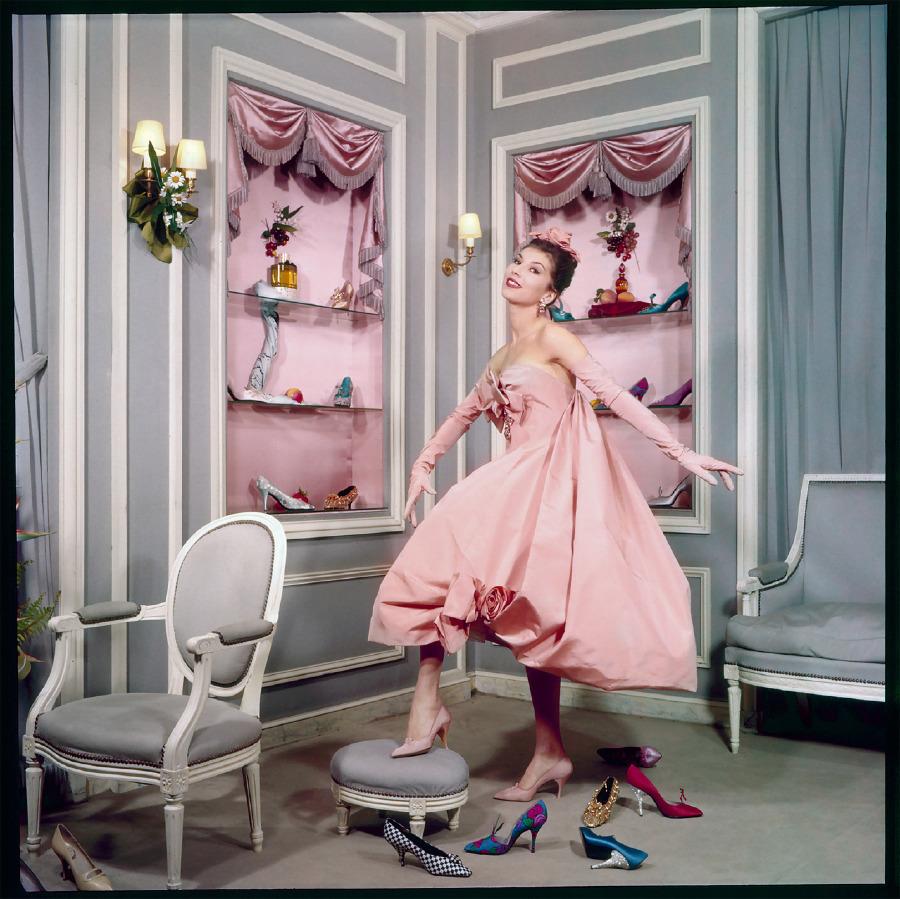 Aurore elbise -1958 İlkbahar/Yaz