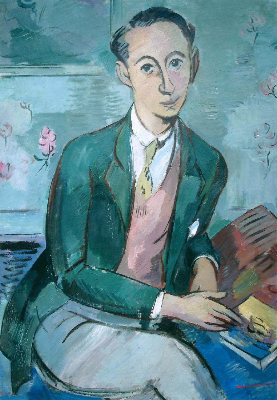 1928 yılında, Paul Strecker tarafından portrelenen Christian Dior