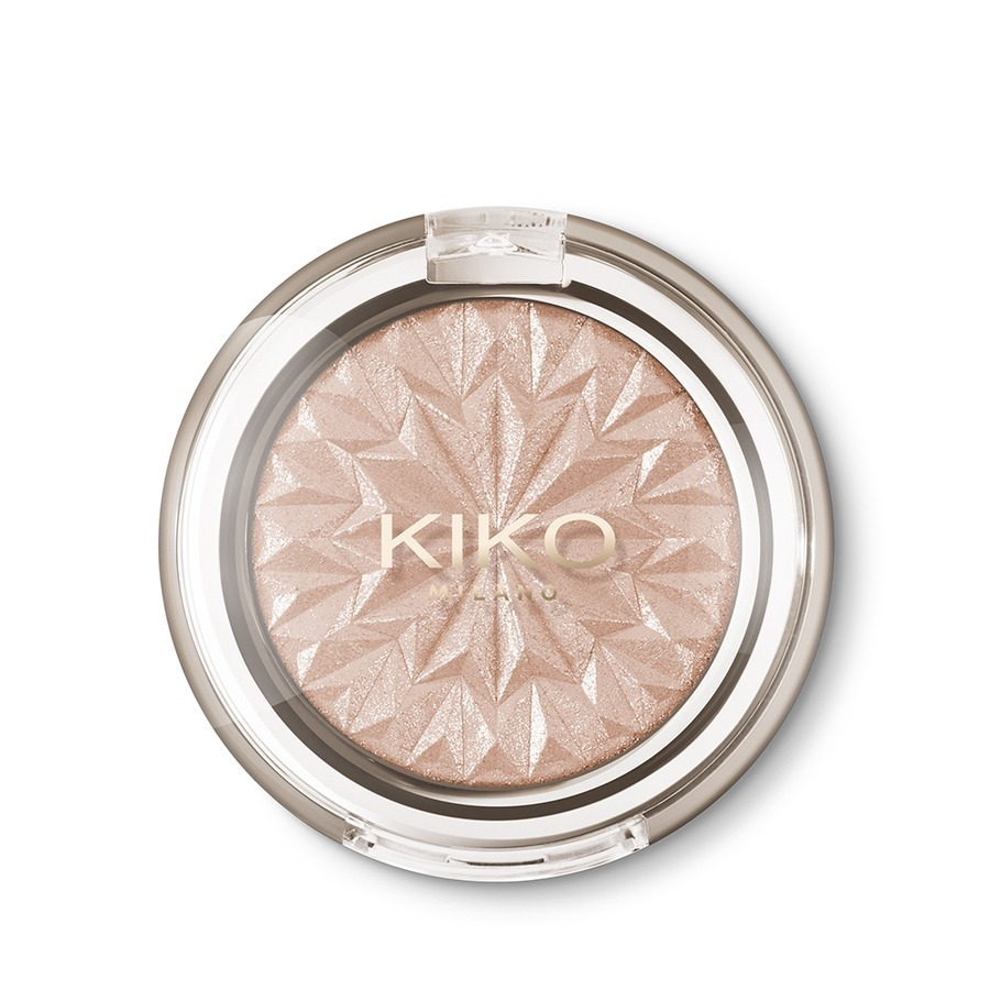 Kiko Sparkling Holiday Metallic Highlighter - 01 Dream of Desert Rose