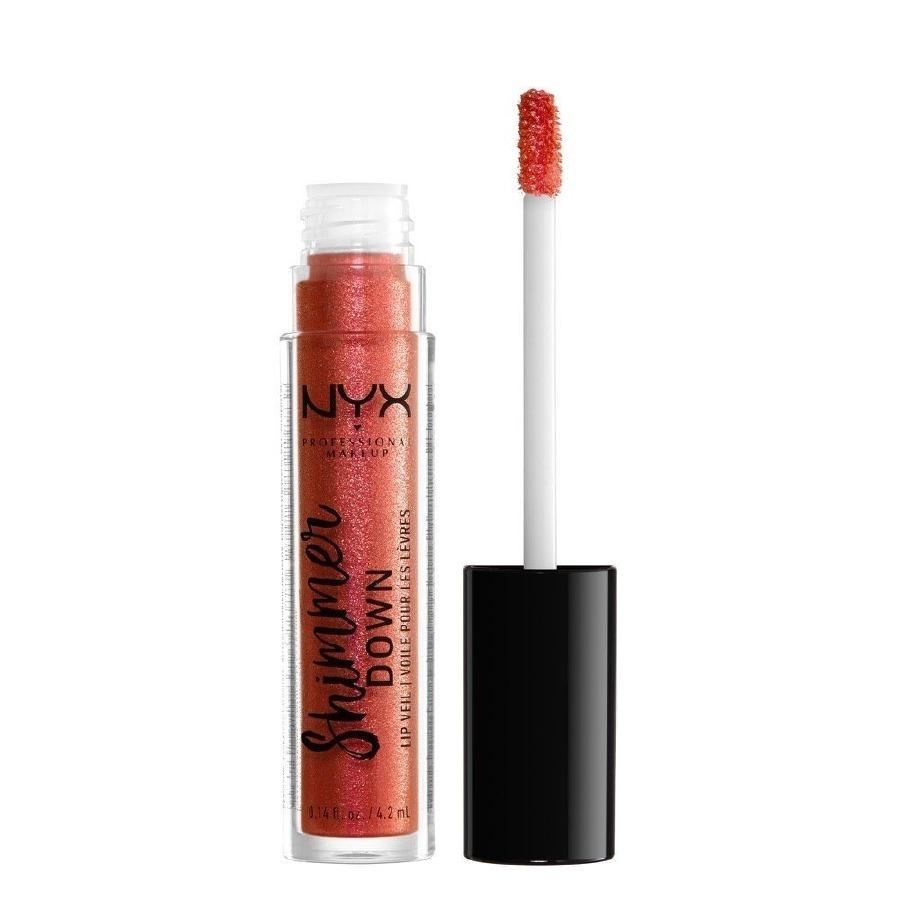 NYX Shimmer Down Lip Veil - Peach of My Heart