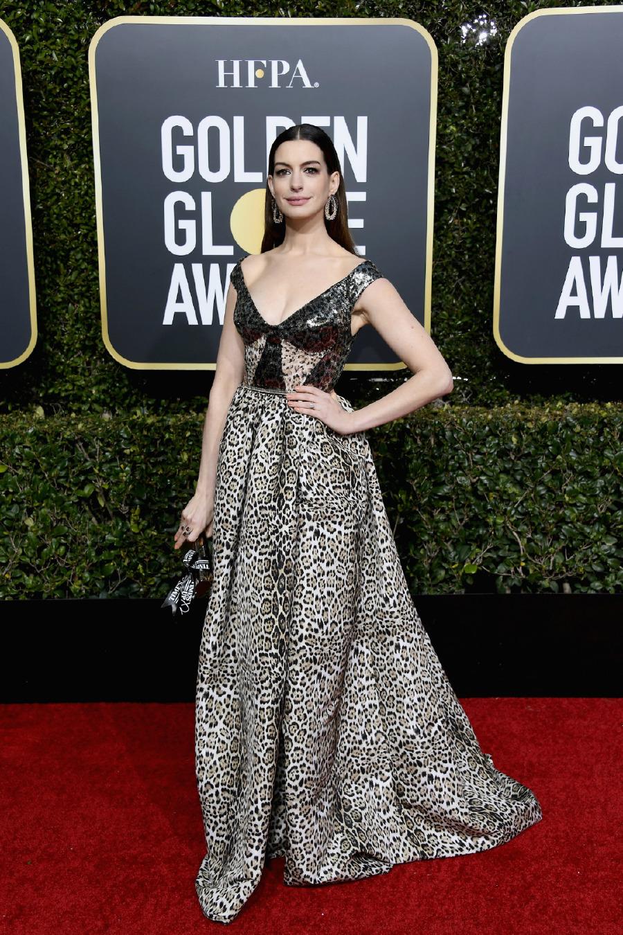 Anne Hathaway, Elbise: Elie Saab