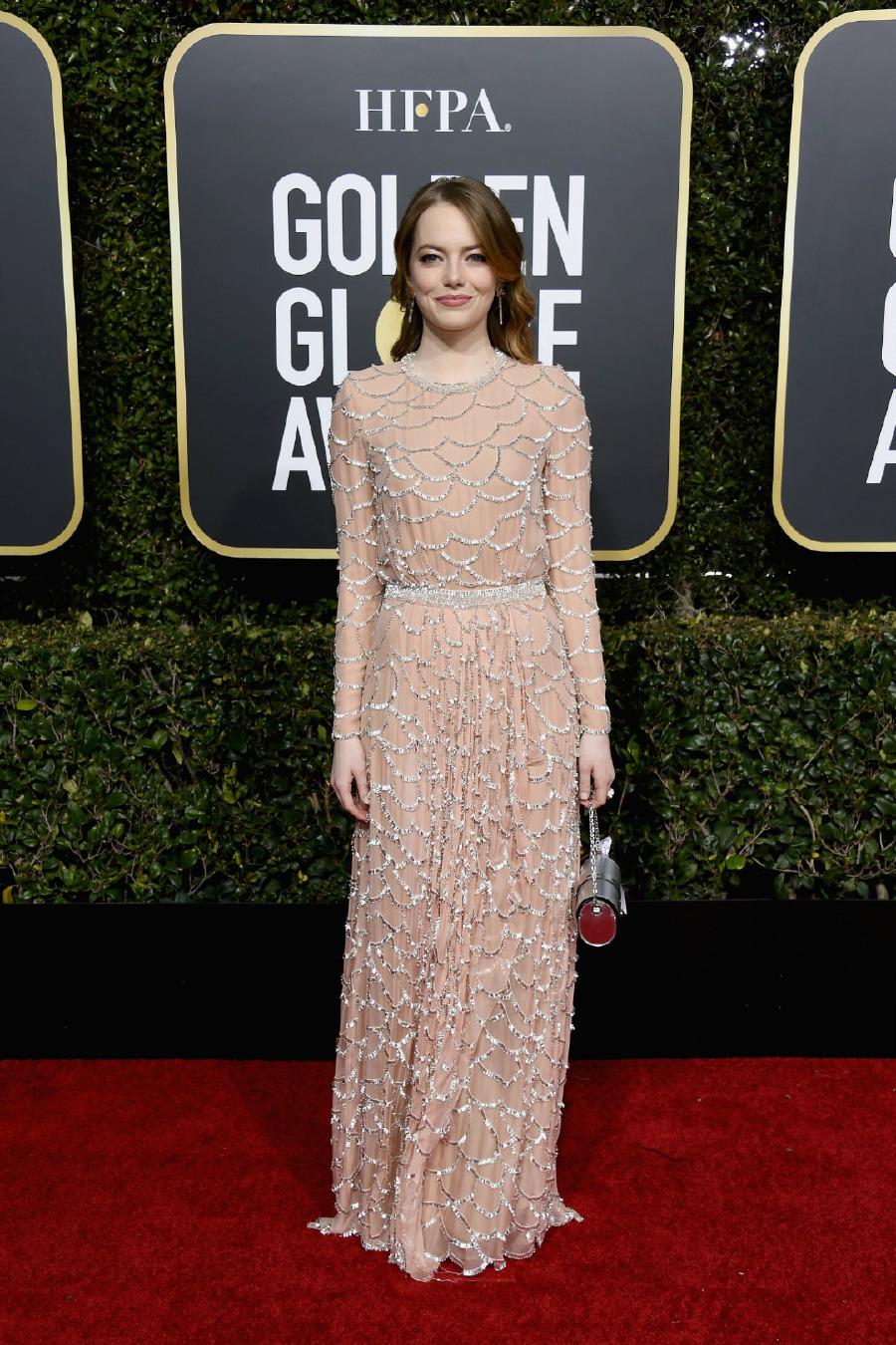 Emma Stone, Elbise: Louis Vuitton