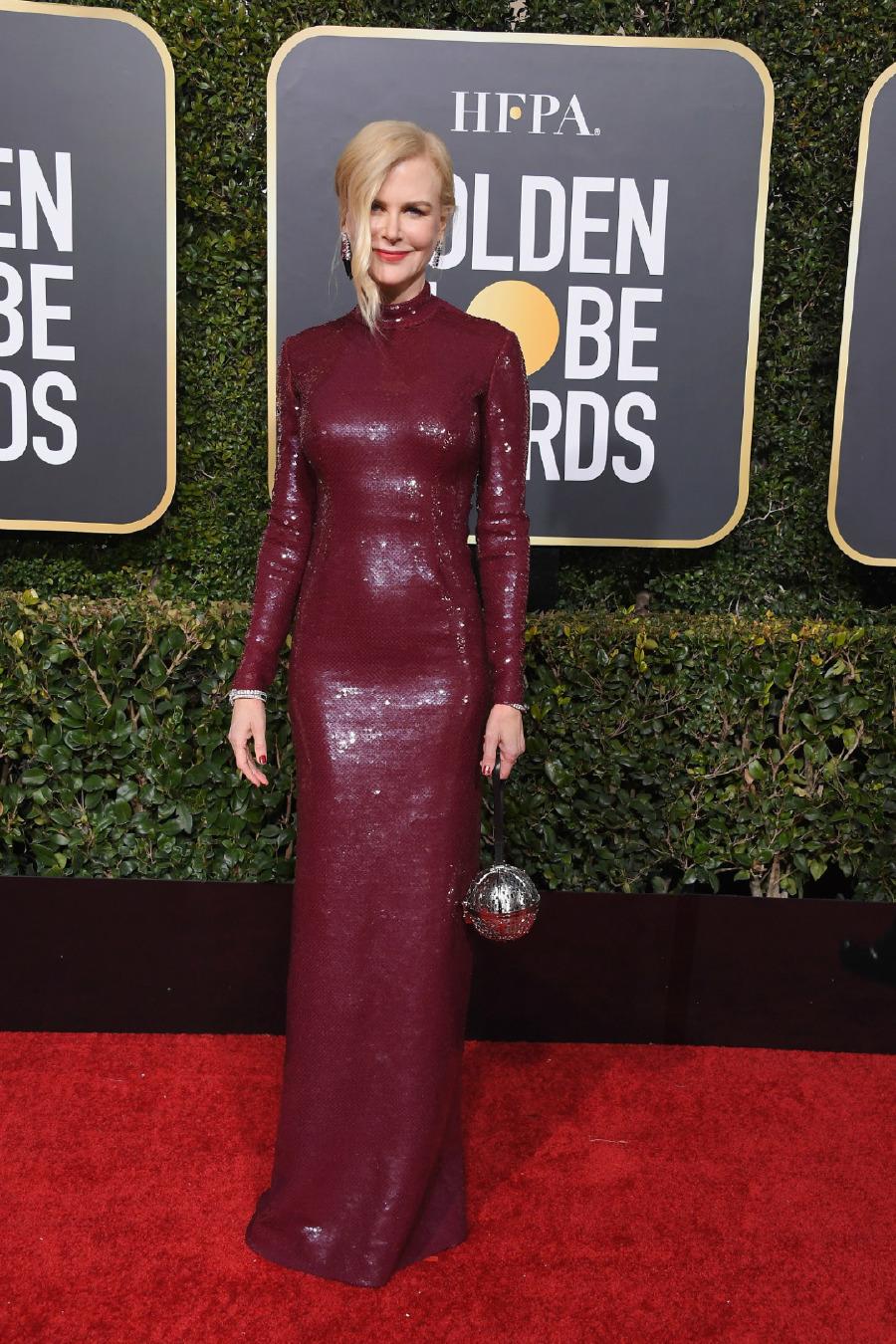 Nicole Kidman, Elbise: Michael Kors