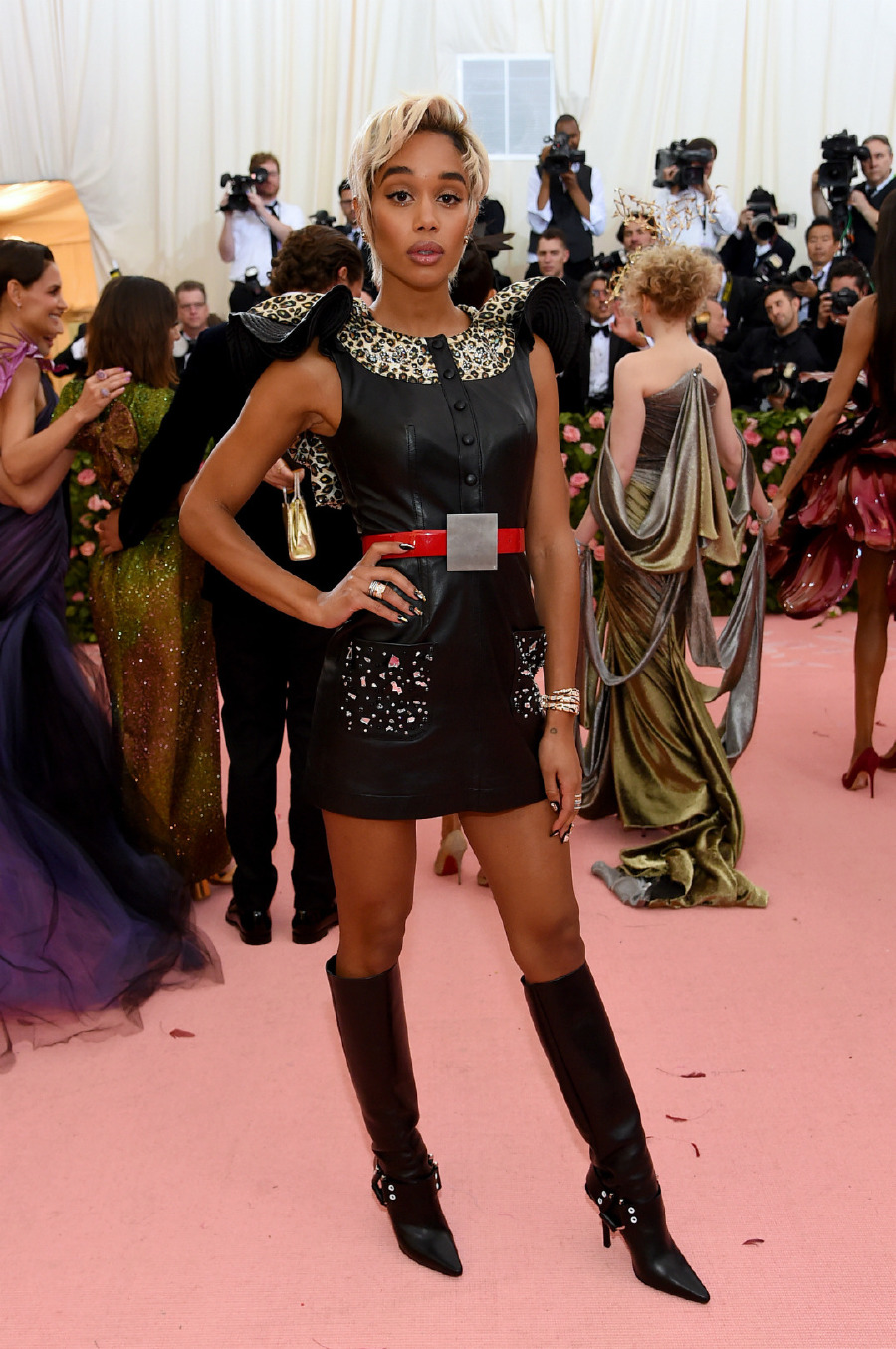 Laura Harrier, Louis Vuitton