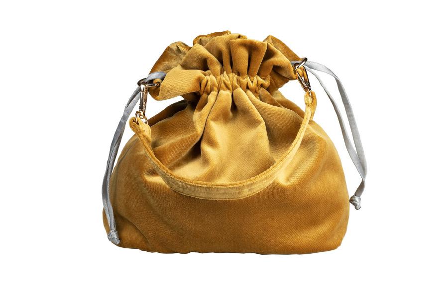Velvet Potli Mustard: 380 TL