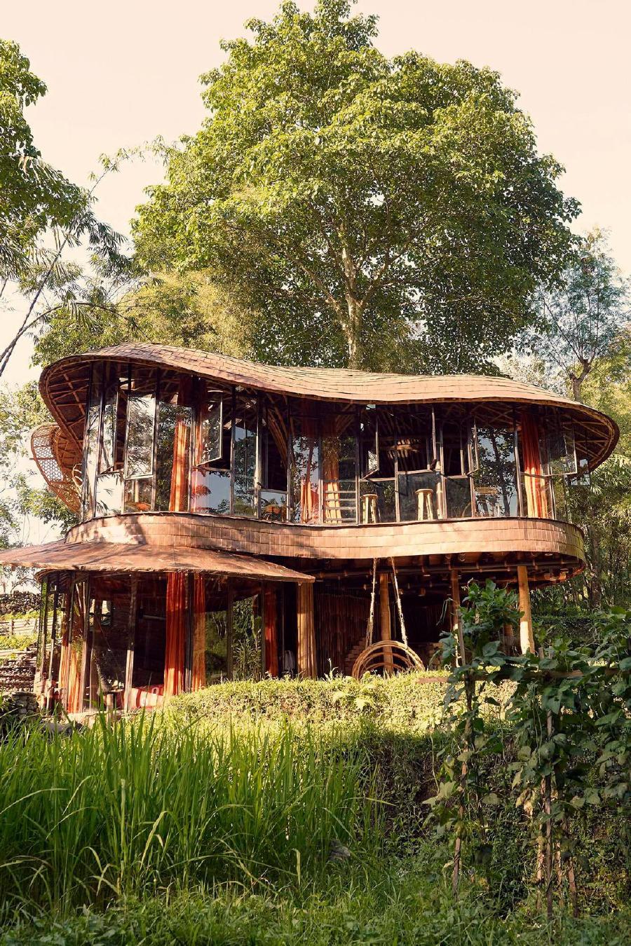 Bambu Indah Resort Riverbend evi