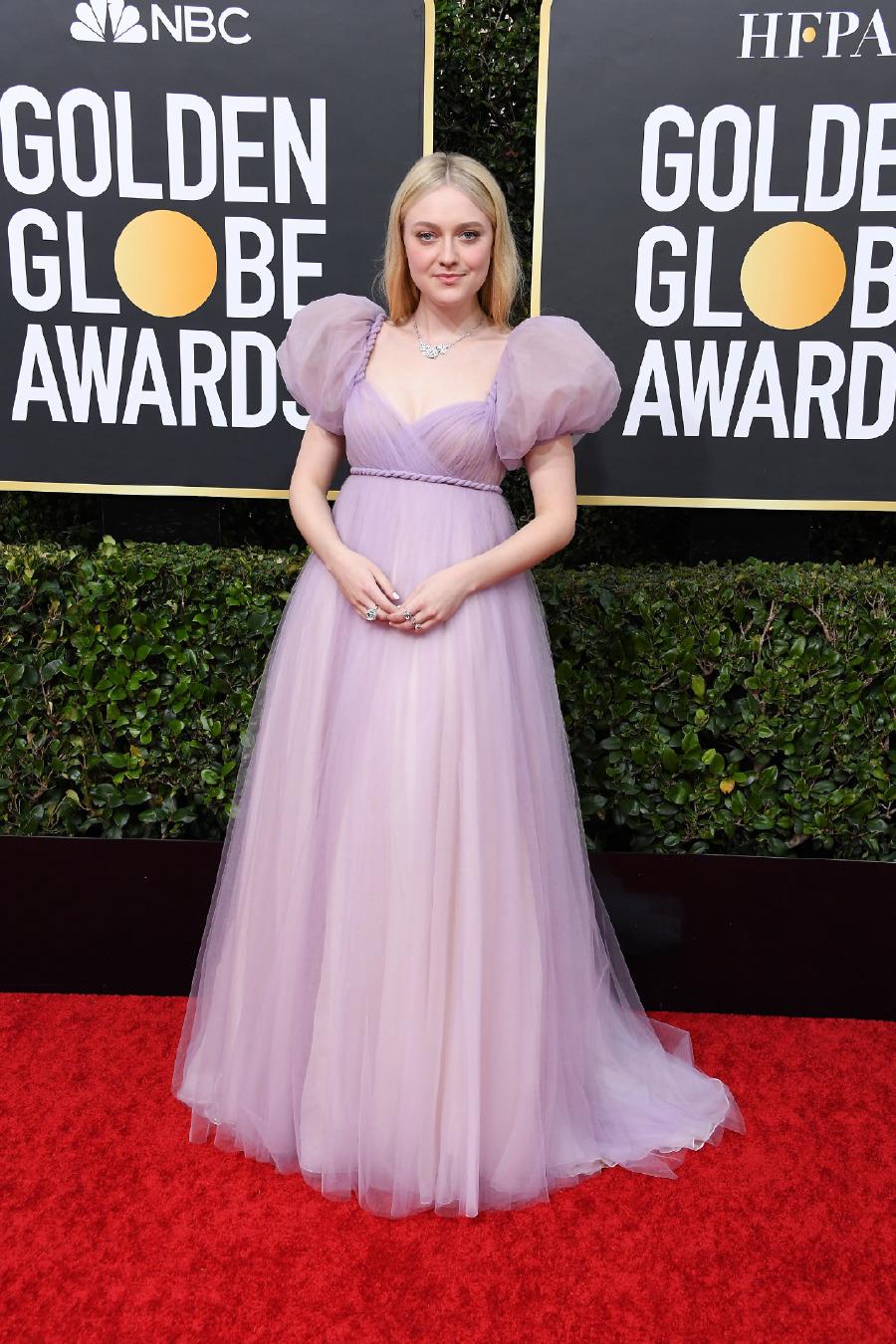 Dakota Fanning, Elbise: Dior