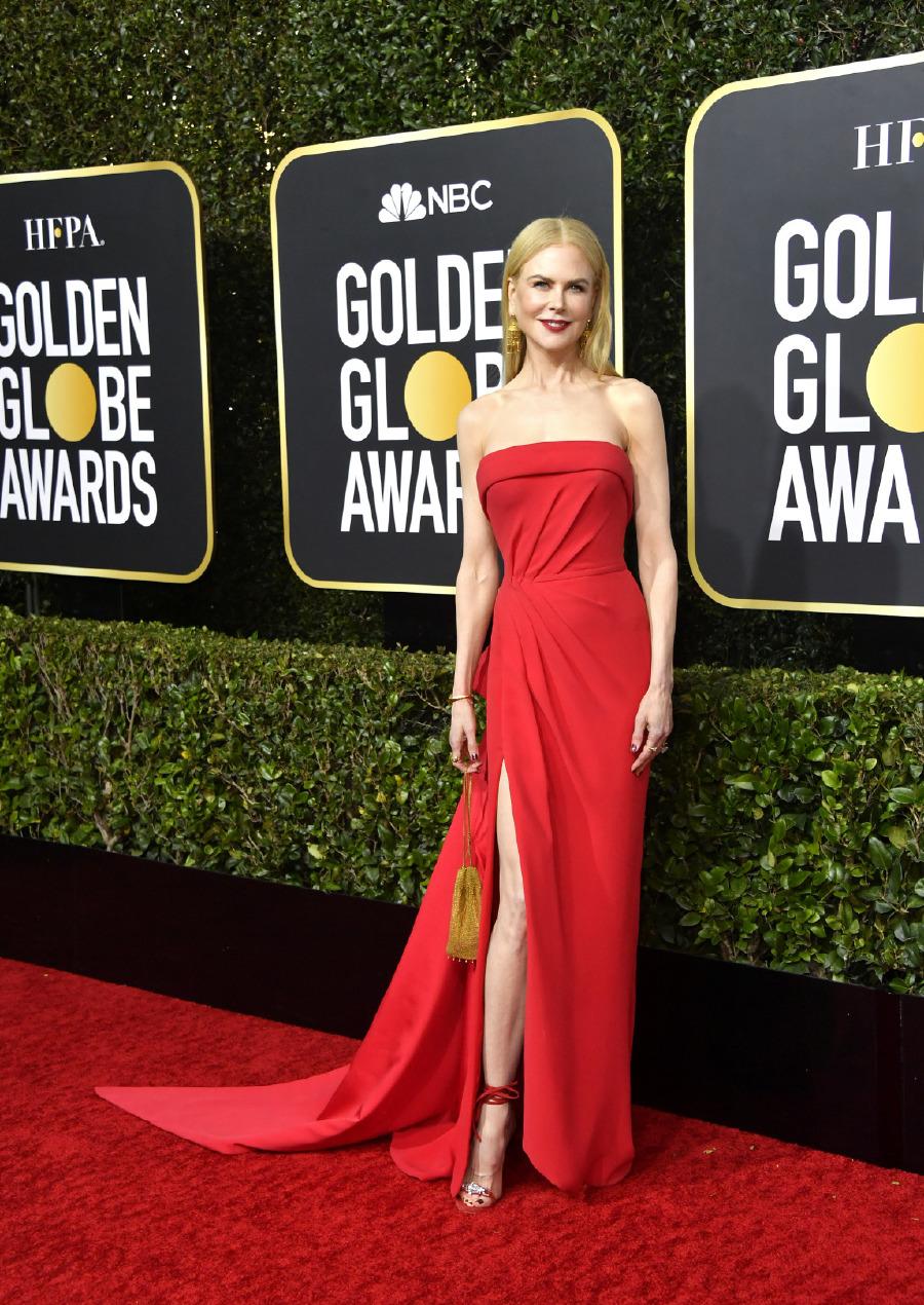 Nicole Kidman, Elbise: Versace