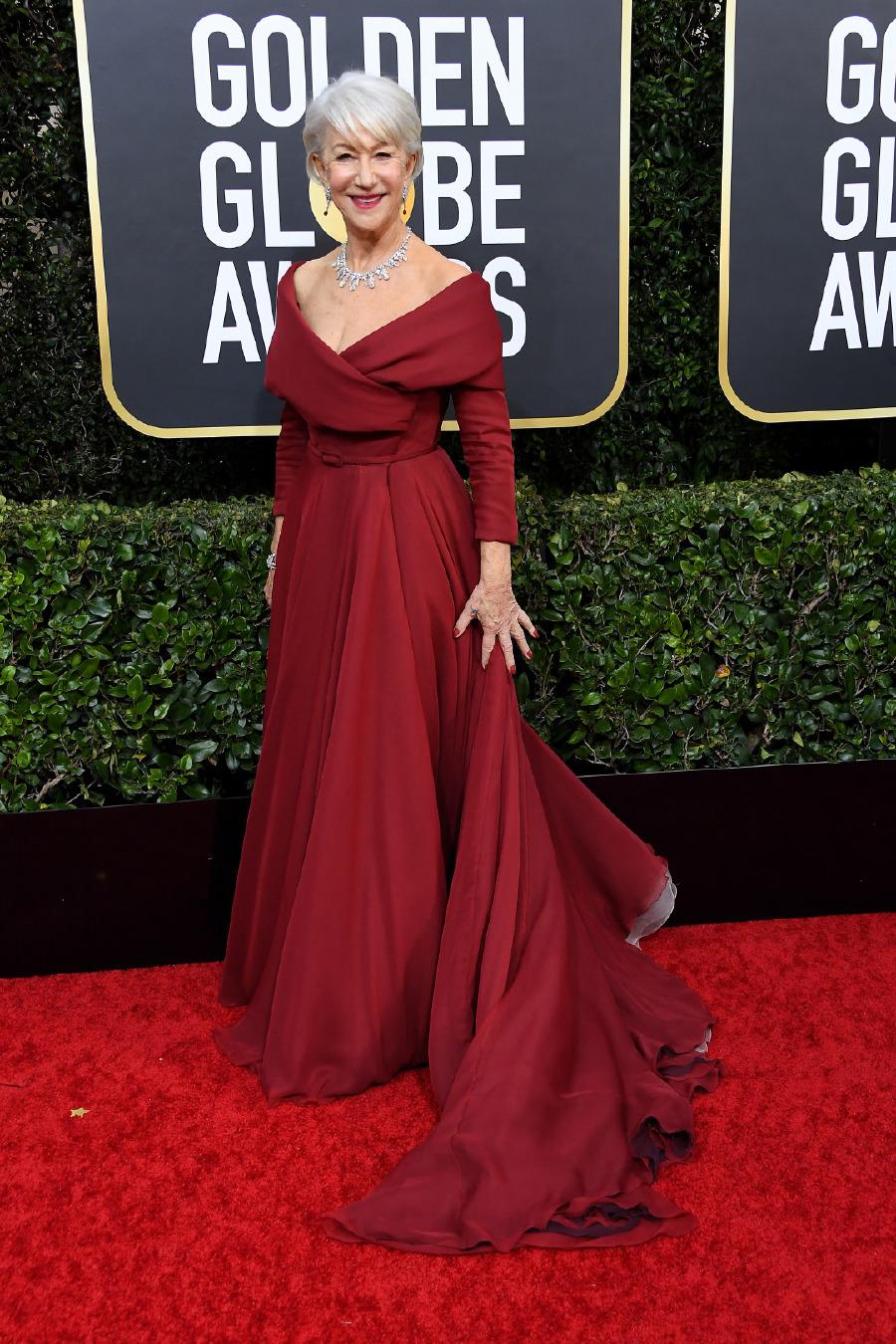 Helen Mirren, Elbise: Dior