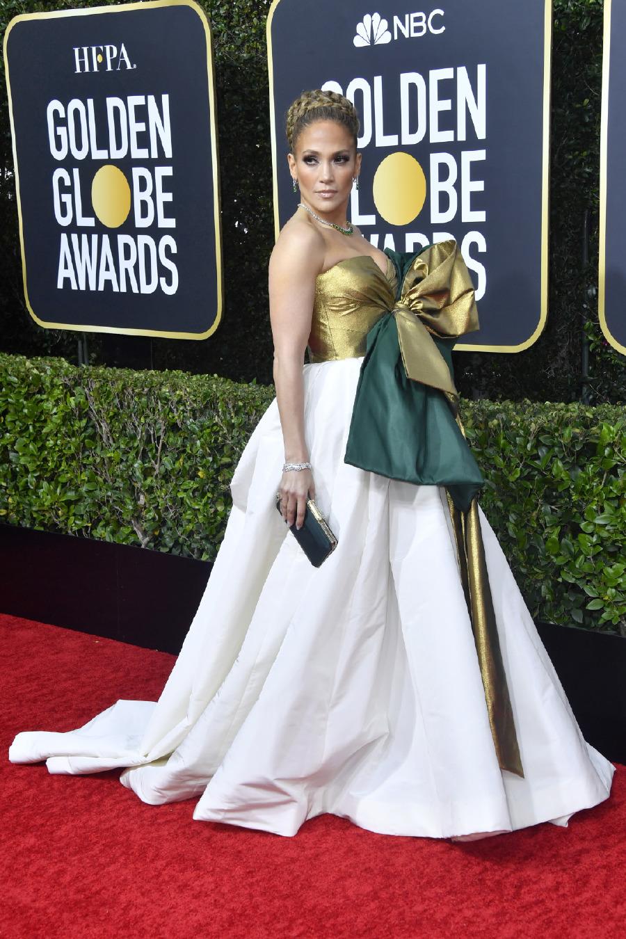 Jennifer Lopez, Elbise: Maison Valentino
