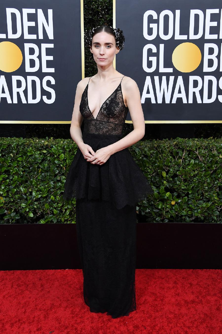 Rooney Mara, Elbise: Givenchy