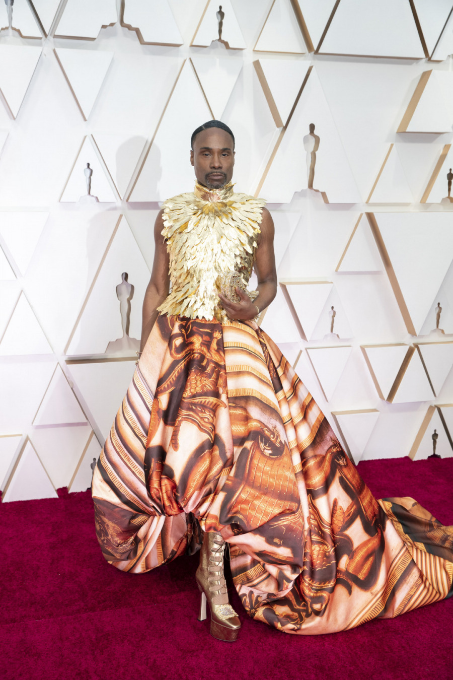 Billy Porter, Elbise: Giles Deacon Couture