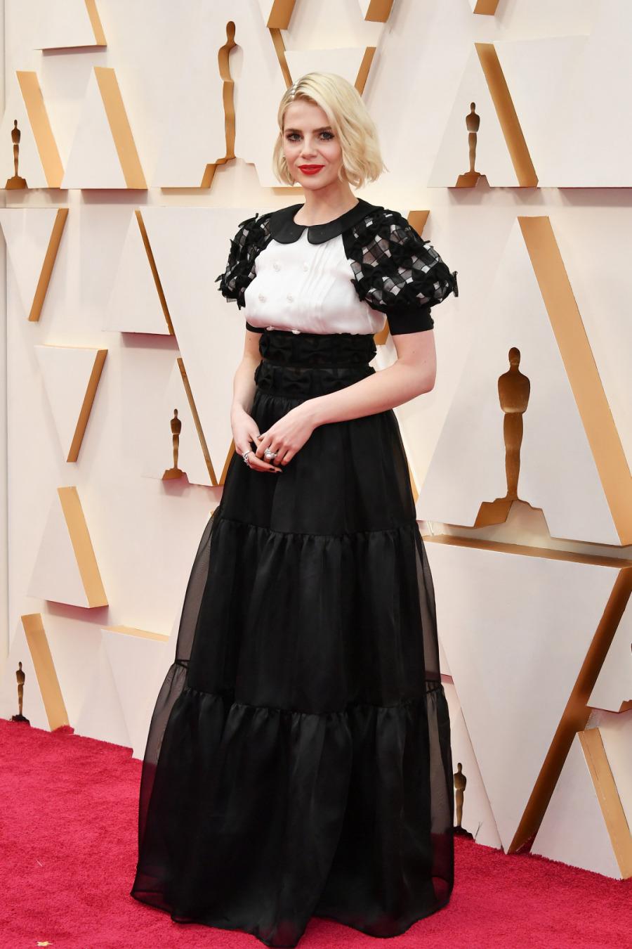 Lucy Boynton, Elbise: Chanel