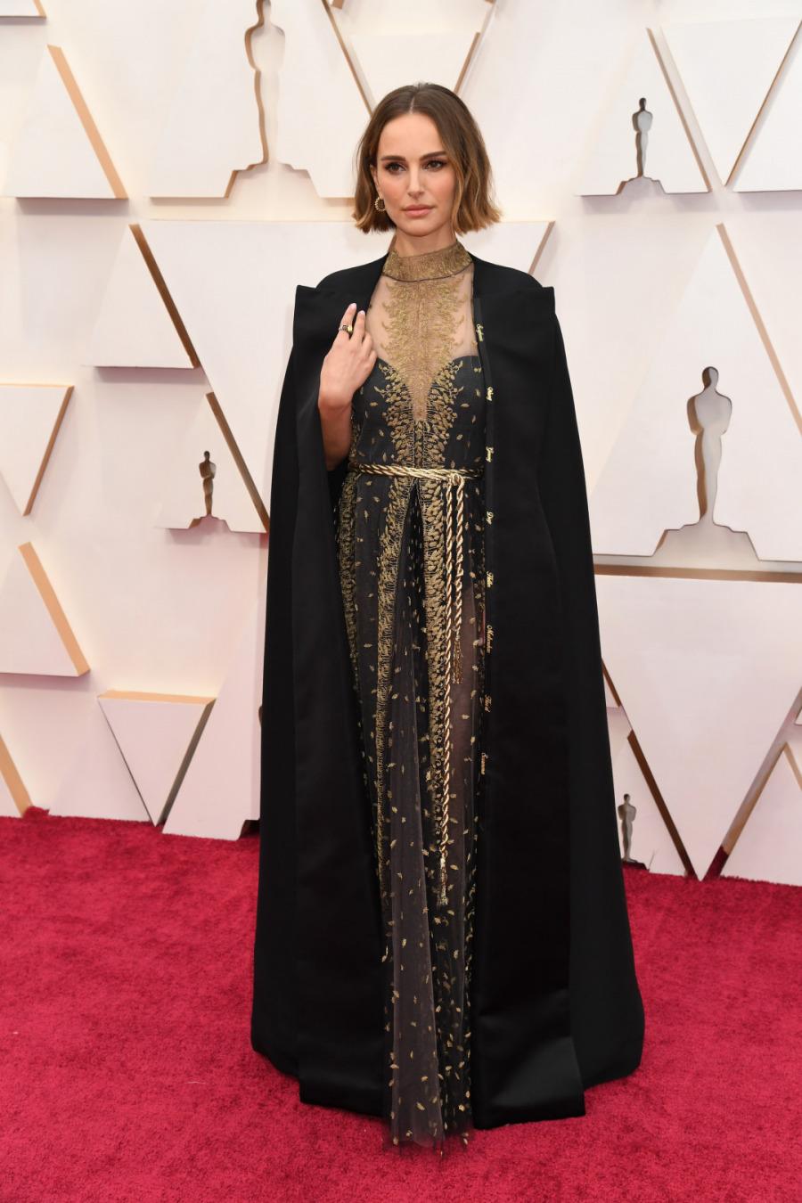 Natalie Portman, Elbise: Dior Haute Couture