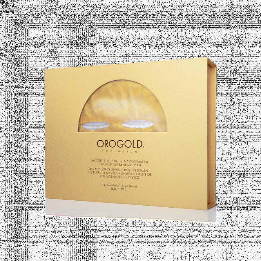 Orogold 24K Deep Tissue Rejuvenation Mask & Collagen Eye Renewal Mask