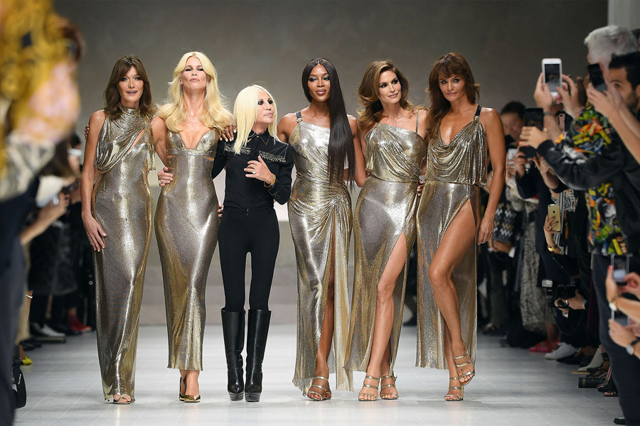 Versace, Milan Fashion Week, 2018 İlkbahar/Yaz