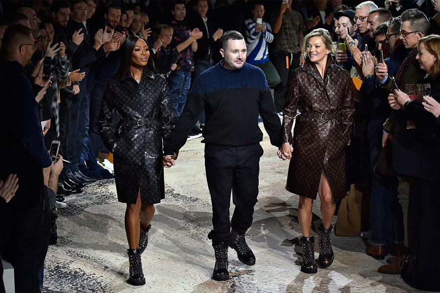 Louis Vuitton Menswear, Paris Fashion Week, 2018 Sonbahar/Kış