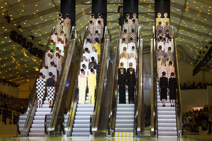 Louis Vuitton Womens Wear, Paris Fashion Week, 2013 İlkbahar/Yaz