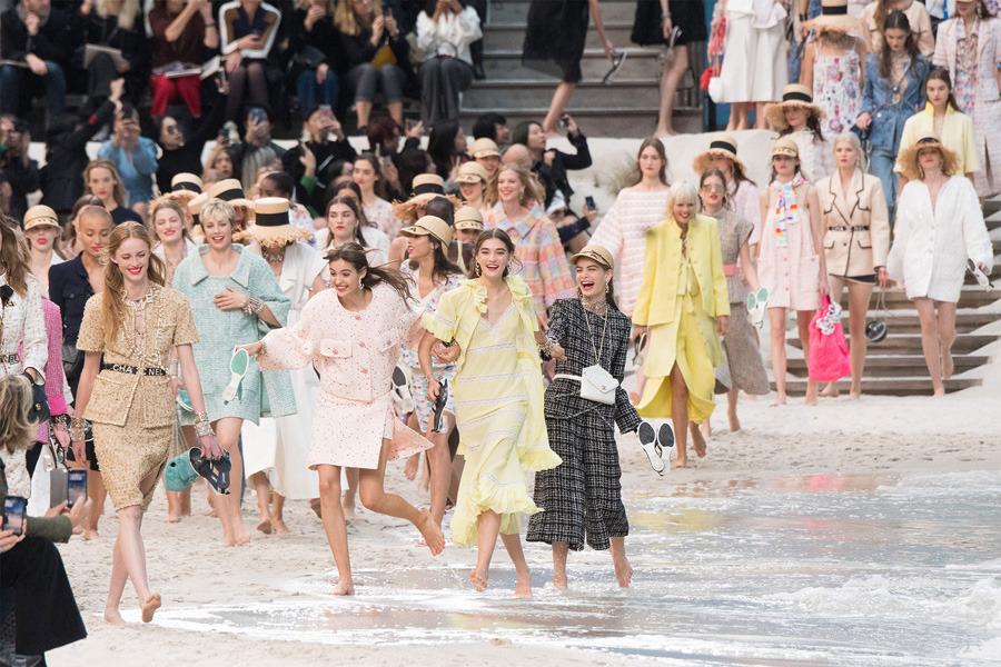 Chanel, Paris Fashion Week, 2019 İlkbahar/Yaz