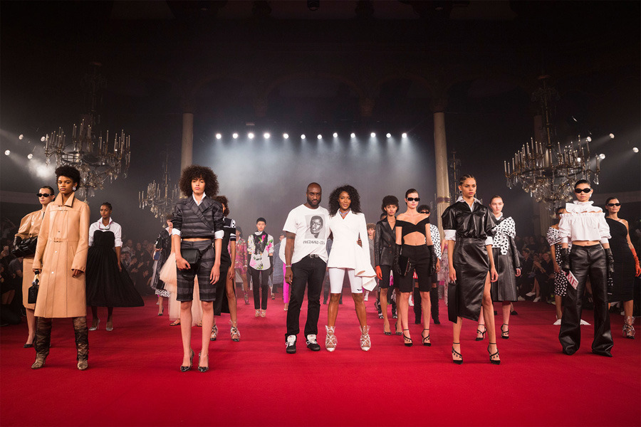Off/White, Paris Fashion Week, 2018 İlkbahar/Yaz