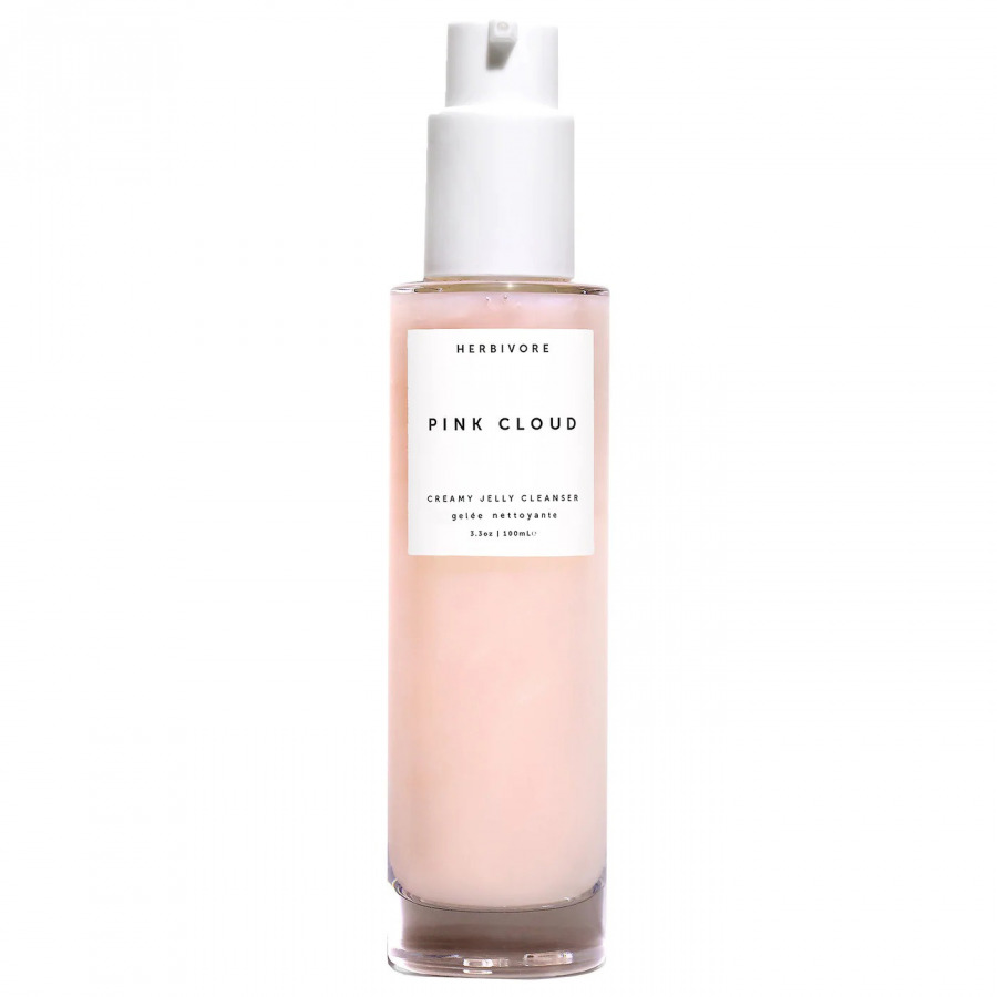 Herbivore Pink Cloud Rosewater   Squalane Makeup Removing Face Wash