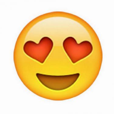 Kalp Gözlü Emoji