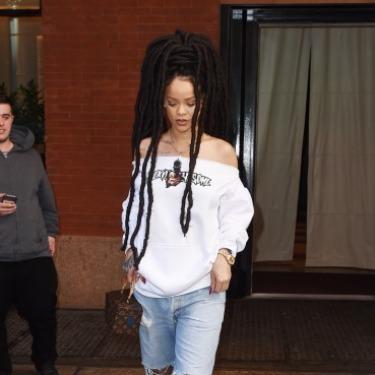 Rihanna'nın Rapunzel Rastaları