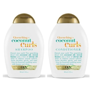 OGX Quenching Coconut Curls Shampoo Conditioner